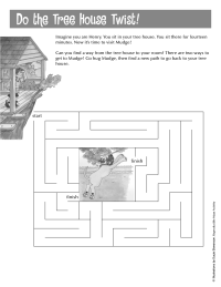 Henry and Mudge Maze