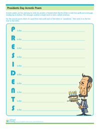 Presidents Day Acrostic Poem