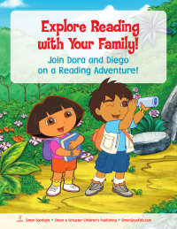 Dora and Diego Family Reading Adventure