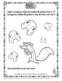 Swiper Coloring Page