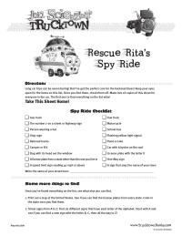 Rescue Rita's Travel Games