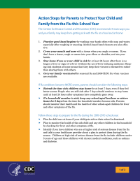 Flu: How to Protect Your Child and Family