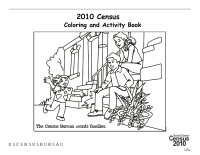 Census Worksheets: Families Count Coloring Page