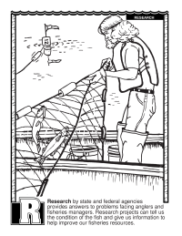 ABCs Coloring Book: R Is for Research