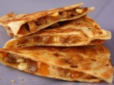 Quick Apple Sausage Quesadillas