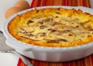 Hashbrown Potato Quiche Lorraine