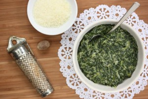 Crazy-Good Cream-less Creamed Spinach