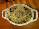 Cheesy Kale Pasta Bake